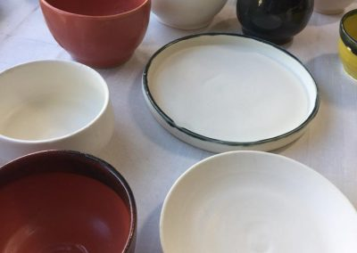 Hand-made ceramics
