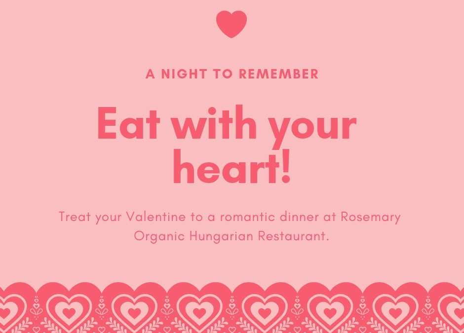 Valentine's Day at Rosemary Restaurant 🗓 🗺