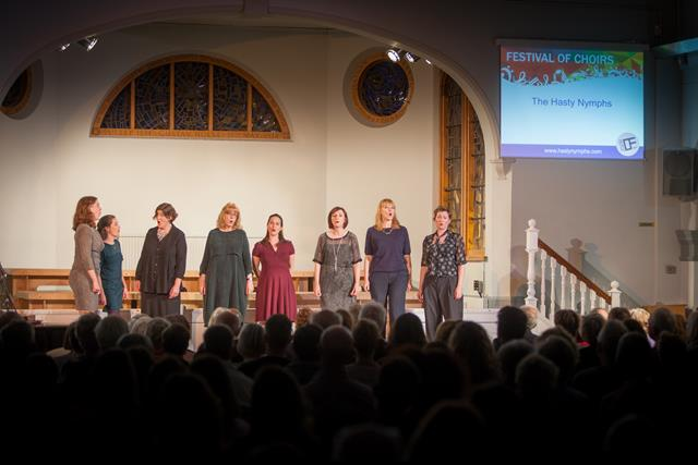 3rd April – Telegraph Hill Festival  – Hasty Nymphs Choir 🗓 🗺