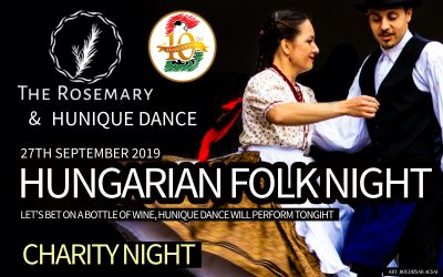 Hungarian Folk Night – Let's bet on a bottle of wine, Hunique Dance will perform tonight 🗓 🗺